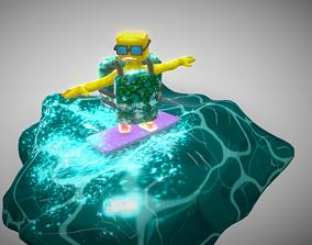 Bob The Boy Turtle 3D model