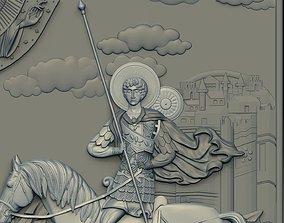 Saint Demetrios of Thessaloniki cnc model