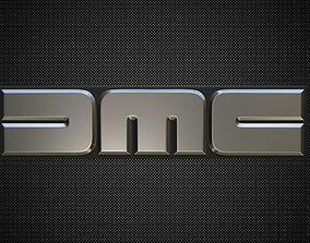 dmc logo 3D
