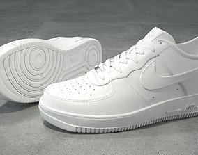Nike Air Force 1 low white 3D model
