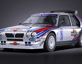 3D model Lancia Delta S4 rally car