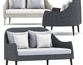 3D model Katachi Sofa 2 Seat by Janus et cie