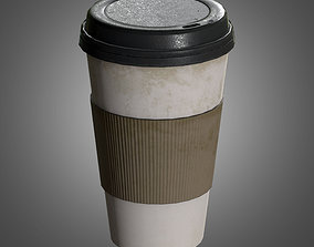 3D model Commercial Coffee Cups - PBR Game Ready