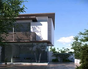 Modern House 3D model architecture
