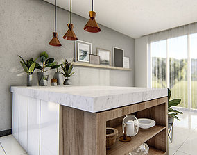 3dnikmodels kitchen Counter 14