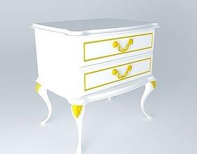 3D simple nightstand