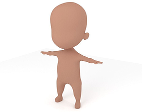 3D model Chibi Male Base Mesh