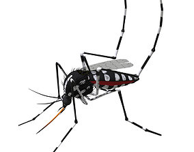 3D model Mosquito - textured