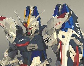 Freedom Gundam 3D