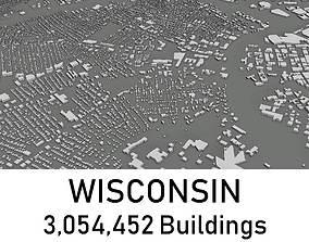 Wisconsin - 3054452 3D Buildings VR / AR ready