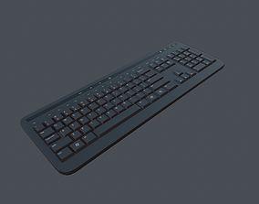Keyboard - PBR Game Ready 3D asset