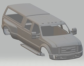 Ford F 450 Super Duty Printable Body Car