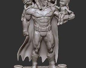 Fan Art - Batman Family 3D printable model cartoon