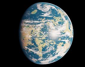 3D asset Terraformed Venus - 16k textures