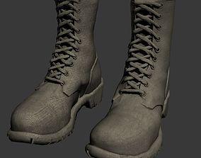 Mens Boots 3D model