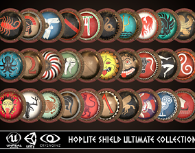 3D Hoplite Shield Ultimate Collection