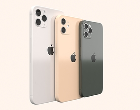 space 3D model iphone 11-pro-max