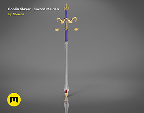 3D print model Maiden sword - Goblin Slayer