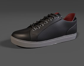 Kenneth Cole Mens Indy Sneaker Black Color 3D model