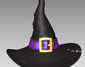 3D Hat Witch