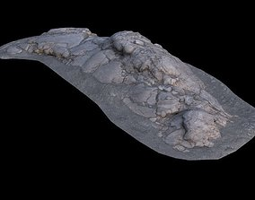 Volcanic Rock V17 3D asset