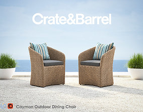 3D Cayman Outdoor Dining Chair
