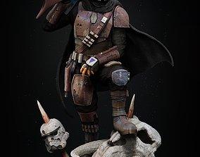 The Mandalorian classic armor Din Djarin 3d printing star