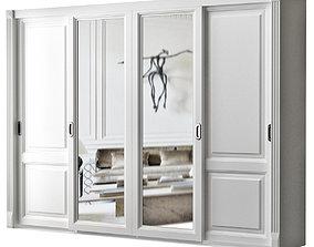 Wardrobe 3d model VR / AR ready living-room