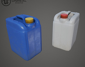 3D model Plastic jerrycan