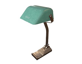 Desk Lamp Game Ready 3D asset realtime