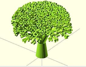 Recursive Broccoli 3D printable model