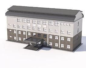 Public building 3D