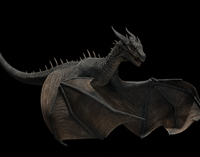 Dragon wyvern 3D asset