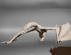 Smaug 3 posed and printable models bilbo