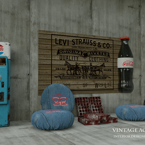 vintage accessory set