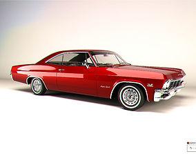3D model Chevrolet Impala 1965