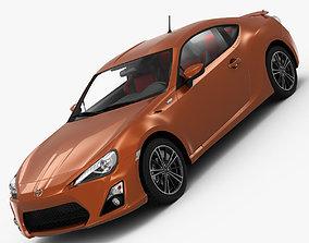 3D 3d Toyota GT86 2013