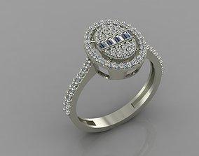 GC GOLD T90- Baguette Diamond gold 3D print model