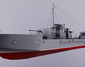 Project 194 - BMO type 3D asset
