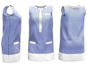 Tunic Dress 3D asset