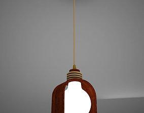3D model Ceiling Pendant Lamp Tiki