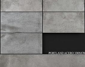 Keros Portland Acero 330x670 3D model