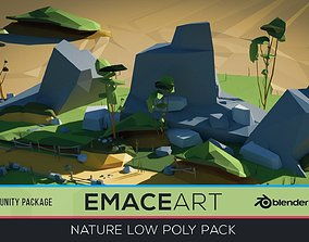 3D model Low Poly Nature Project Pack - Dirt Road