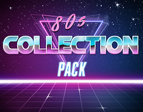 80s Collection Pack 3D model