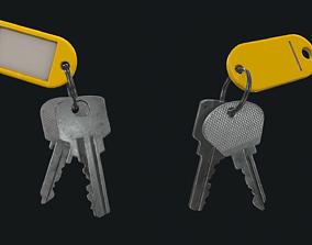 HQ PBR Keychain 3D asset