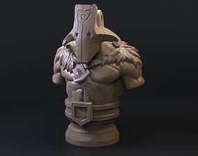 3D printable model Dota 2 Juggernaut Bust