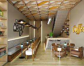 ceiling Coffee Shop 3D model