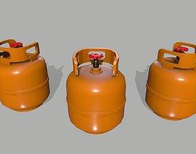 3D model realtime Propane Tank oxygen