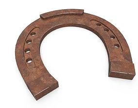 Horseshoe Rust 3D asset