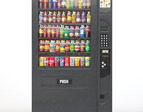 3D model Vending Mashine